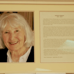 "Dedication of the ""Margie Edinger Community Room"""