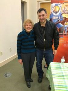 Emma Kaliterna with Author Pascal Lee