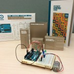 One of our Arduino Starter Kits, ready for patrons to practice their electronics skills.