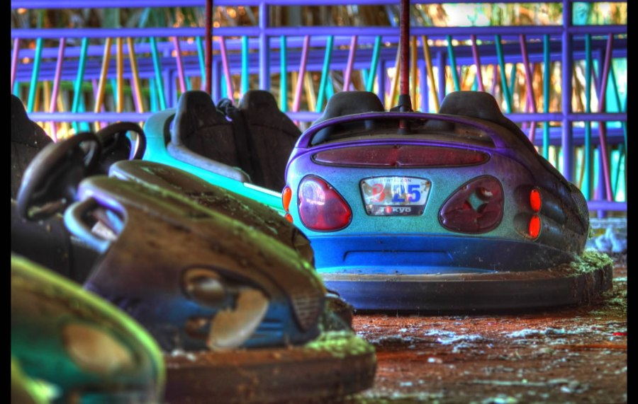 Katrina killed the bumper cars