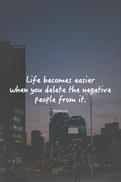 Good Friday Wallpaper With Quotes Life Becomes Easier When You Delete The Negative People