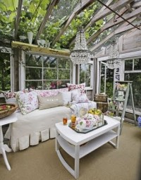 Shabby Chic Sunroom Pictures, Photos, and Images for ...