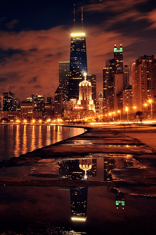 Cute Wallpapers For Facebook Cover Photo Chicago City Lights Pictures Photos And Images For