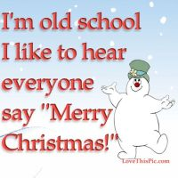 I'm Old School Merry Christmas Pictures, Photos, and ...