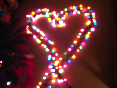 Cute Girl Wallpapers Pinterest Christmas Heart Lights Pictures Photos And Images For