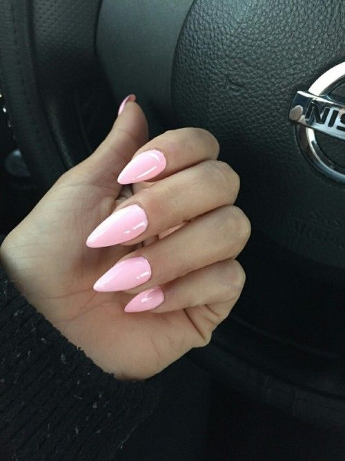 Really Cute Thanksgiving Wallpaper Light Pink Stiletto Nails Pictures Photos And Images For