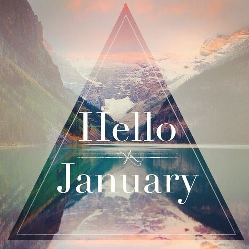 Nice Wallpapers With Inspiring Quotes Hello January Pictures Photos And Images For Facebook