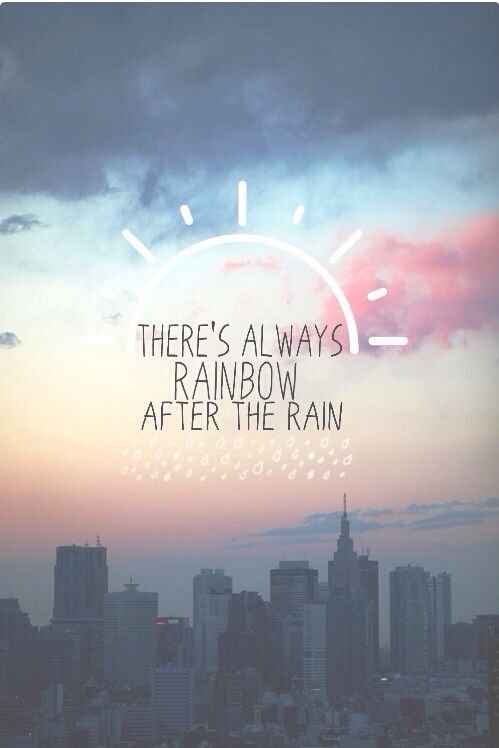 Whatever Quotes Wallpaper Rainbow After The Rain Pictures Photos And Images For