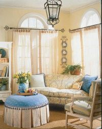 French Country Living Room Design Pictures, Photos, and ...