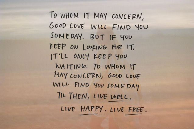Signs And Sayings Hd Wallpapers Good Love Will Find You Pictures Photos And Images For