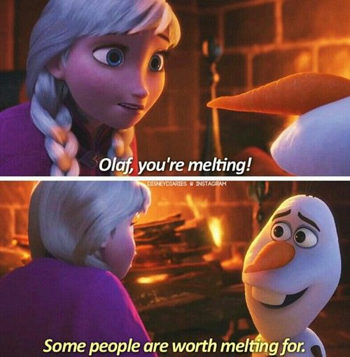 Olaf Frozen Wallpaper Quotes Some People Are Worth Melting For Pictures Photos And