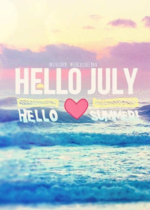 Good Morning Wallpaper Cute Hello July Hello Summer Pictures Photos And Images For