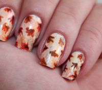 Fall Leaf Nails Pictures, Photos, and Images for Facebook ...