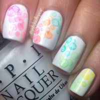 Pastel Bubble Nails Pictures, Photos, and Images for ...