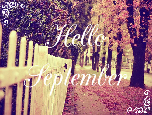 Free Cute Quote Wallpapers Hello September Autumn Sidewalk Pictures Photos And