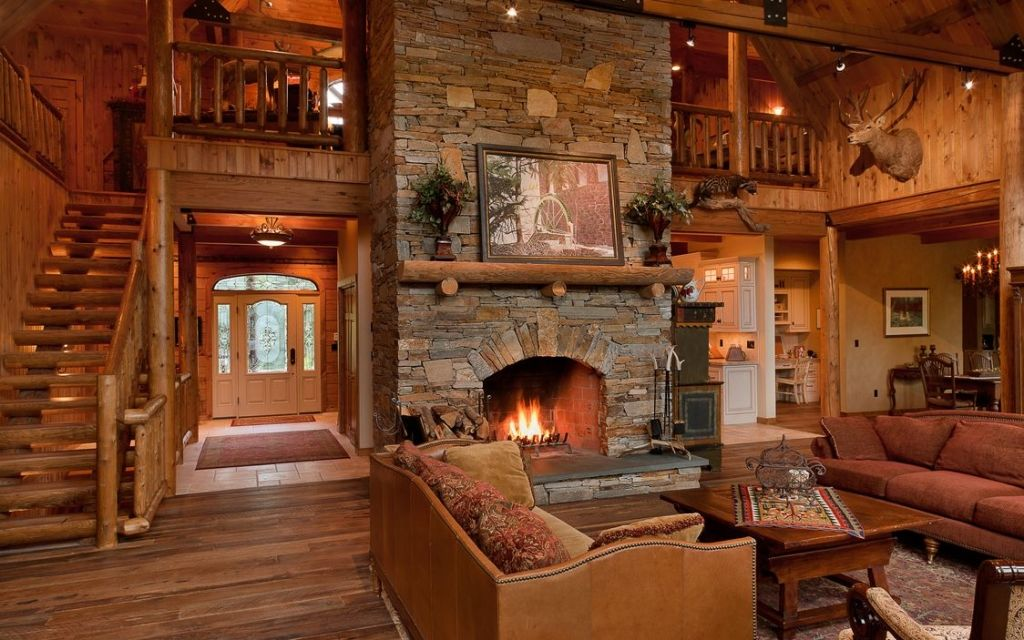 Cute Rustic Fall Wallpapers Cabin Home Interior Pictures Photos And Images For