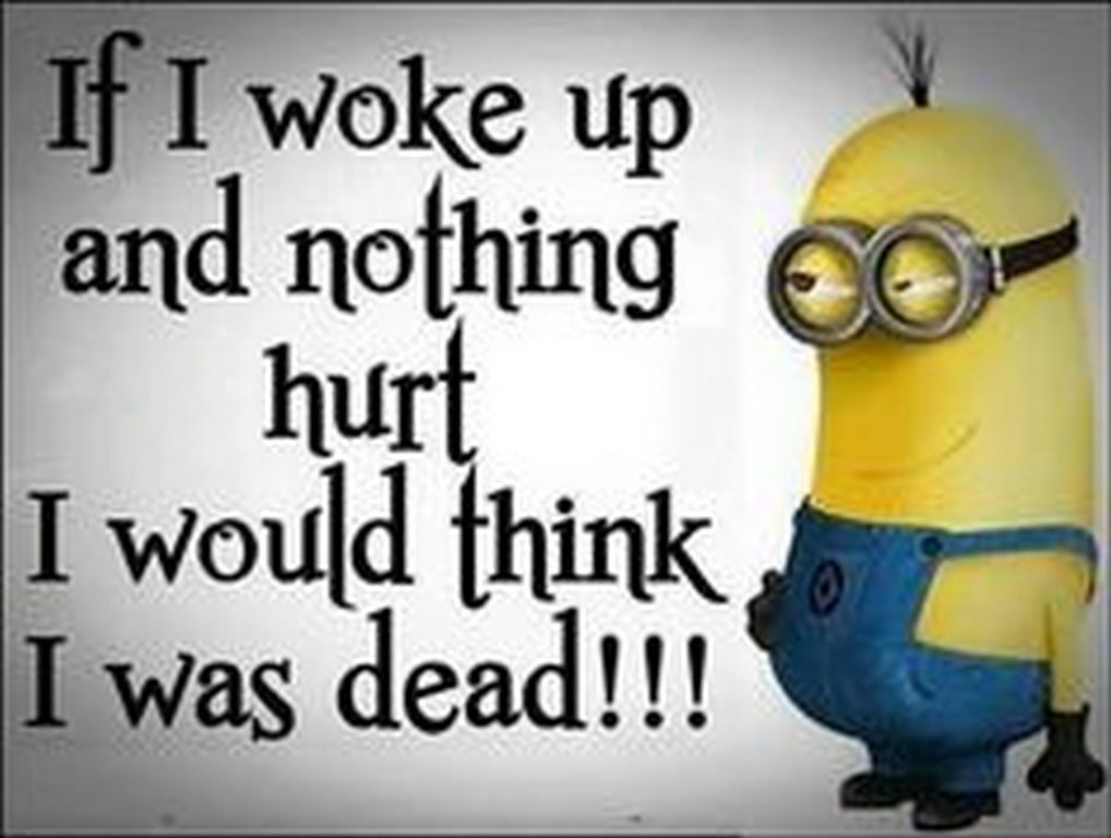 Girl Minion Wallpaper If I Woke Up And Nothing Hurt Pictures Photos And Images