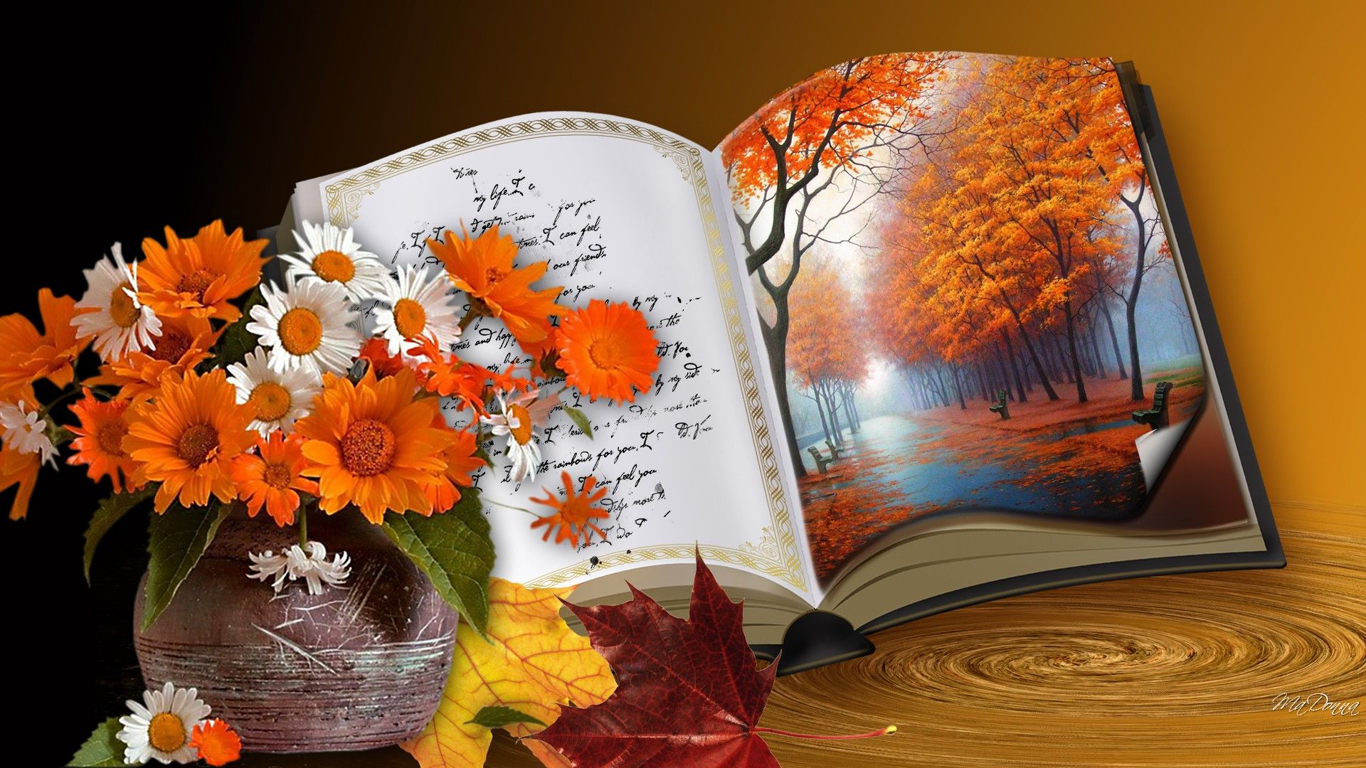 Seasonal Fall Coffee Desktop Wallpaper Book Of Autumn Pictures Photos And Images For Facebook