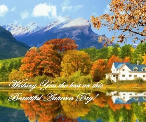 Fall Dual Monitor Wallpaper Wishing You The Best On This Beautiful Autumn Day Pictures