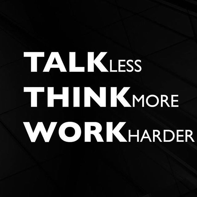 Good Morning Friends Wallpaper With Quotes Talk Less Think More Work Harder Pictures Photos And