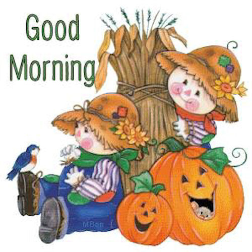 Seasonal Fall Coffee Desktop Wallpaper Cute Good Morning Scarecrows Pictures Photos And Images