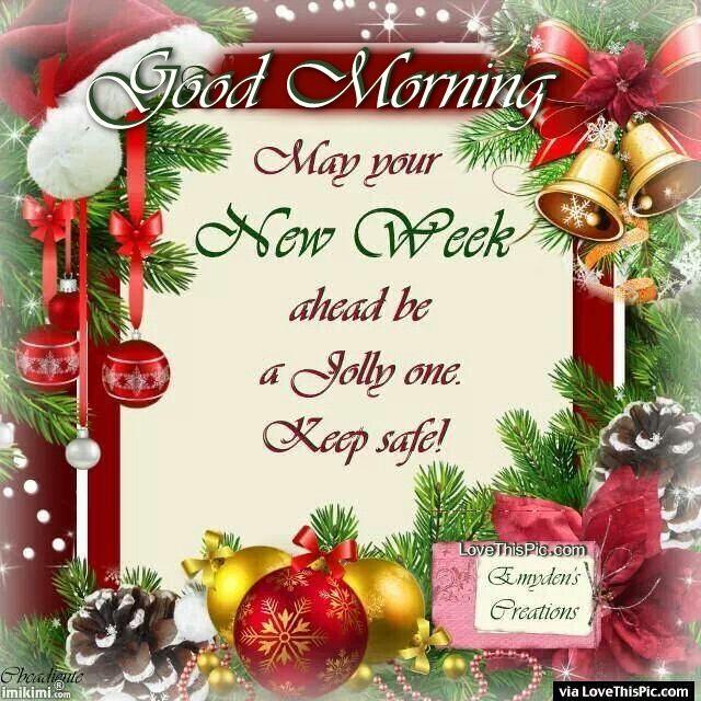 Seasonal Fall Coffee Desktop Wallpaper Good Morning Have A Jolly New Week Christmas Quote
