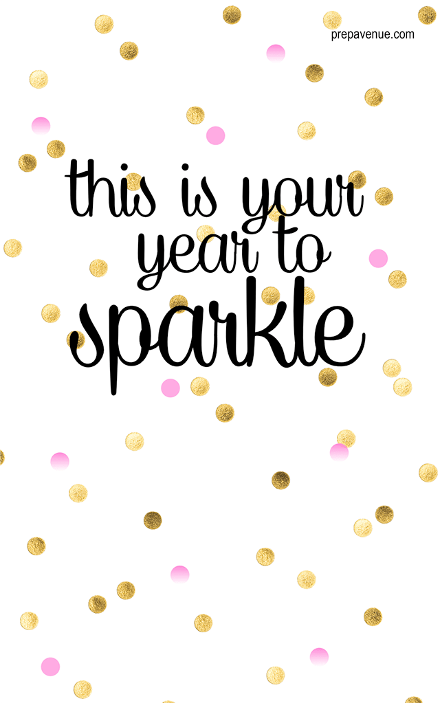 Kate Spade Quote Iphone Wallpaper This Is Your Year To Sparkle 2016 Pictures Photos And