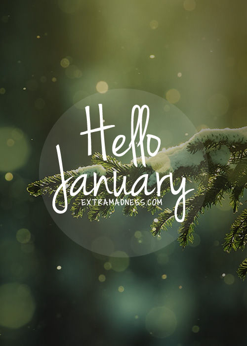 Seasonal Wallpaper For Iphone Hello January Pictures Photos And Images For Facebook