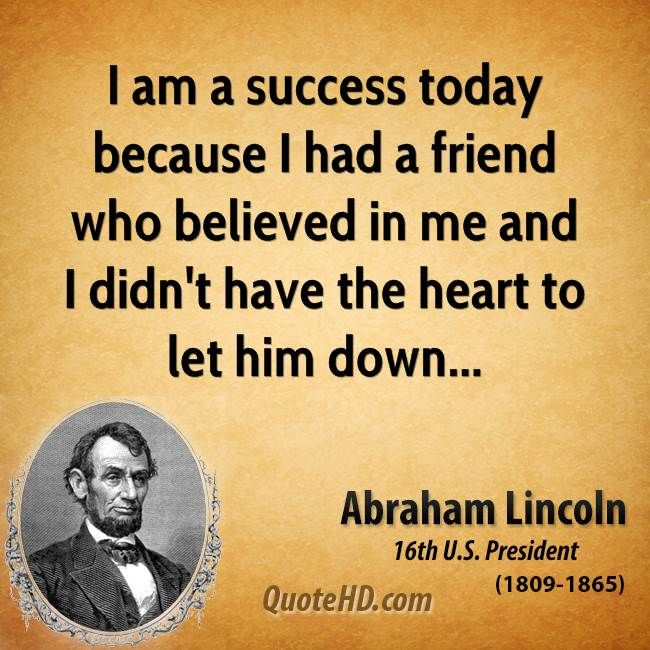 Funny Quote Wallpaper In Hindi I Am A Success Today Because I Had A Friend Who Believed
