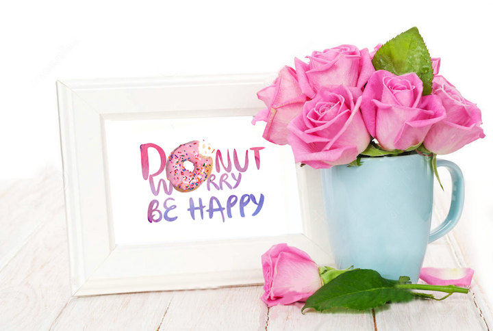 Cute St Patricks Day Wallpaper Donut Worry Be Happy Pictures Photos And Images For