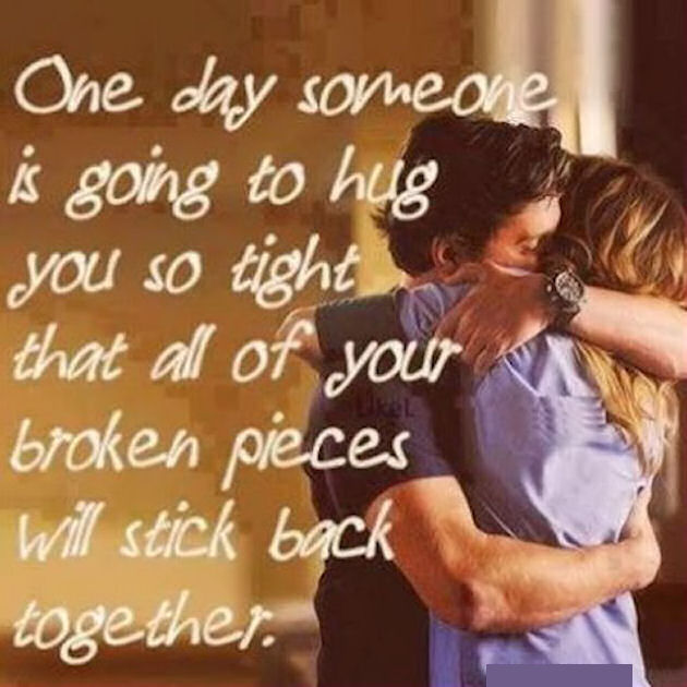 Cute Relationship Quotes Hd Wallpaper One Day Someone Is Going To Hug You So Tight All Your