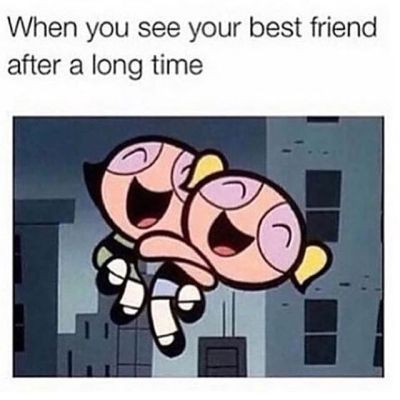 When You See Your Best Friend After A Long Time Pictures, Photos, and Images for Facebook ...