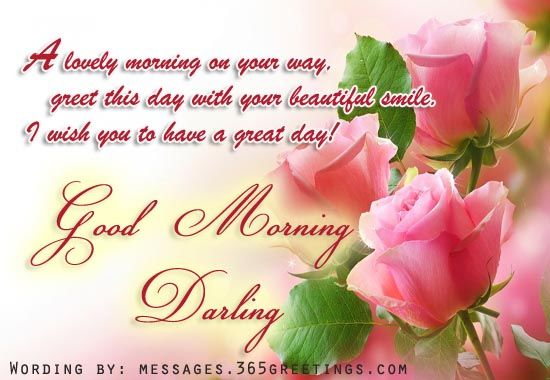 Good Morning Darling Pictures Photos And Images For