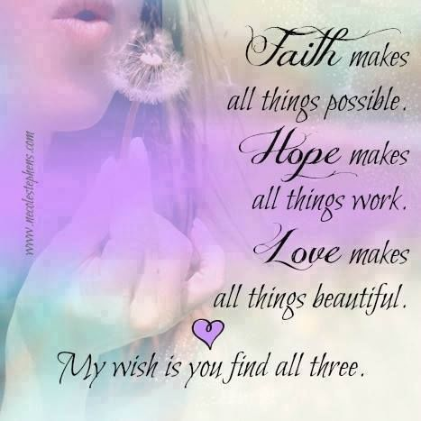 Girl Good Morning Wallpaper Faith Hope And Love Pictures Photos And Images For