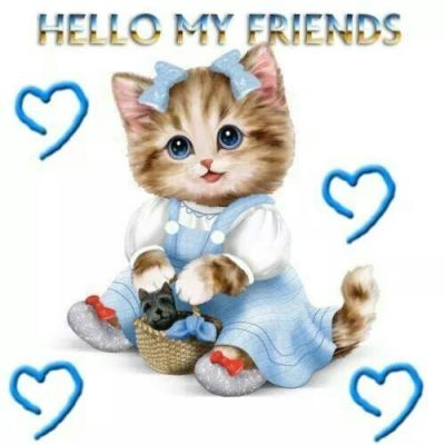 Hello My Friends... Pictures, Photos, and Images for Facebook, Tumblr, Pinterest, and Twitter