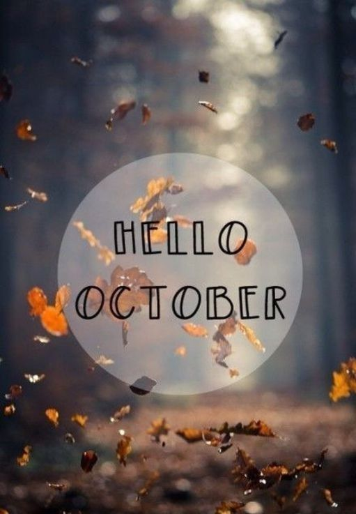 Kids Fall Wallpaper Hello October Pictures Photos And Images For Facebook