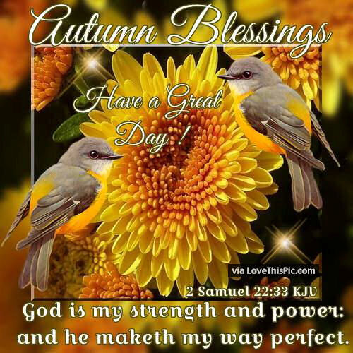 Good Quotes In The Story The Yellow Wallpaper Autumn Blessings Have A Great Day Pictures Photos And