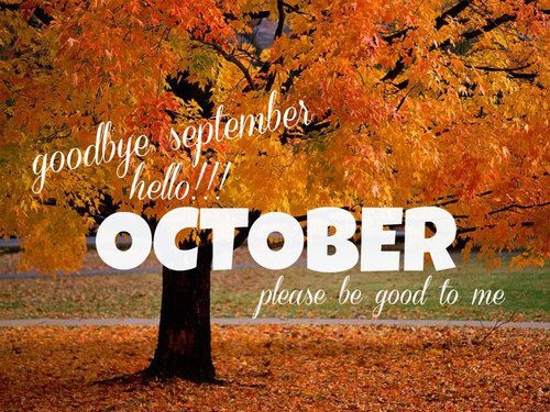 Fall Heart Leaves Background Wallpaper Hello October Goodbye September Pictures Photos And