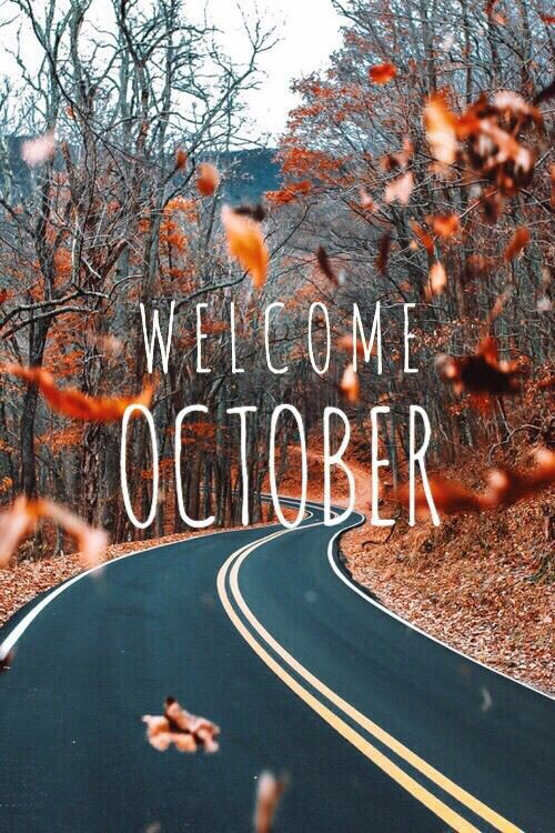 Cute Girl Style Wallpaper Welcome October Pictures Photos And Images For Facebook