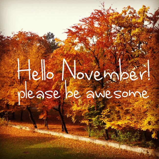 Good Morning Wallpaper With Cute Girl Hello November Please Be Awesome Pictures Photos And