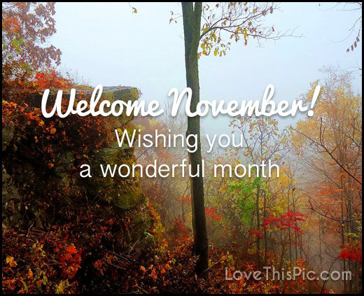 Wallpaper Girly Quotes Welcome November Pictures Photos And Images For Facebook