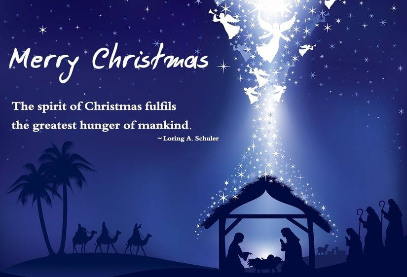Desktop Wallpaper Tolkien Quote Merry Christmas The Spirit Of Christmas Fulfills The
