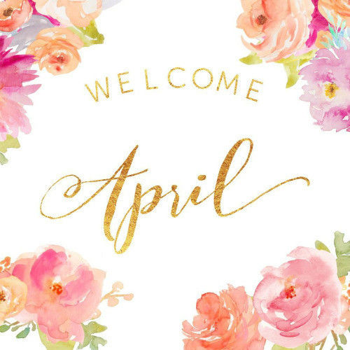 Rose Gold Wallpaper With Quotes Welcome April Pictures Photos And Images For Facebook