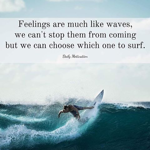 Deep Quotes About Life Wallpaper Feelings Are Much Like Waves We Can T Stop Them From