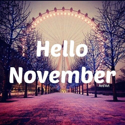 Good Friday Wallpaper With Quotes Hello November Pictures Photos And Images For Facebook