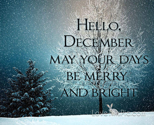 Wallpaper Girly Quotes Hello December Pictures Photos And Images For Facebook
