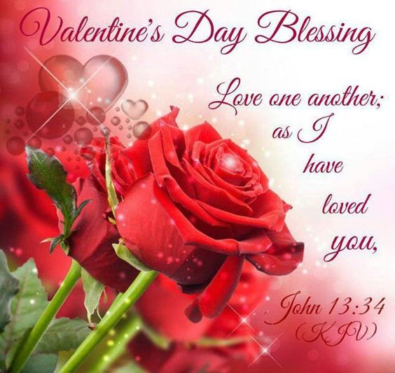 Cute Godly Wallpapers Love One Another Valentine S Day Blessing Pictures
