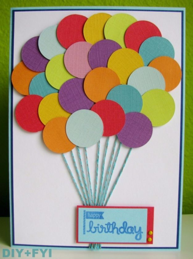 Pretty Balloons Birthday Card Pictures, Photos, and Images for