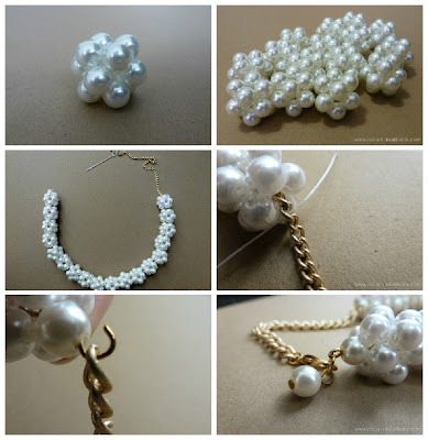 Diy Pearl Necklace Pictures Photos And Images For