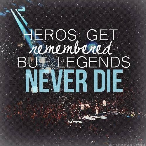 Mcr Quote Wallpapers Legends Never Die Pictures Photos And Images For